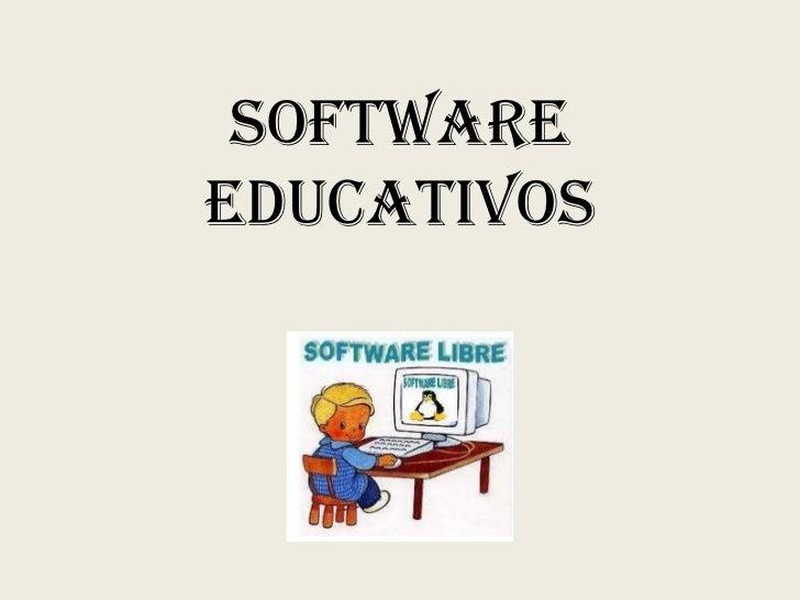 Softwareeducativos