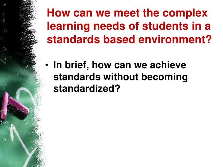 Power standards slideshow