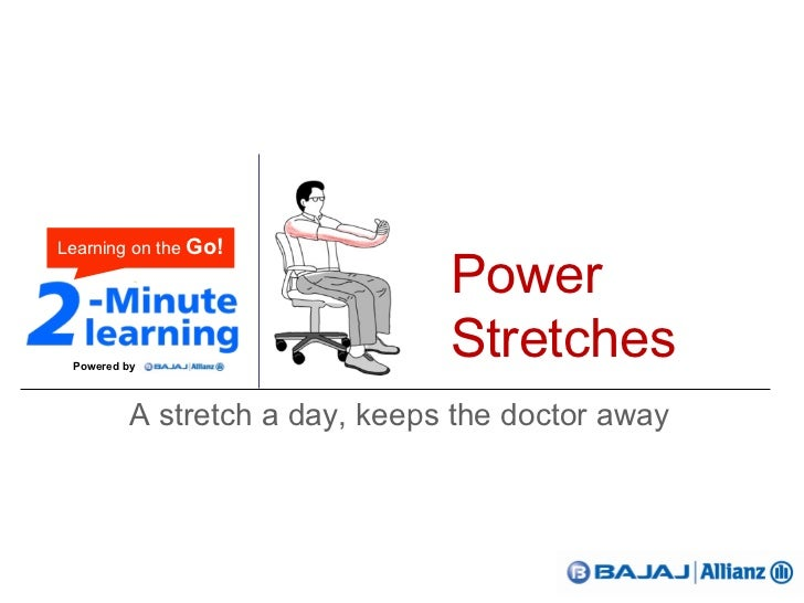2-Minute Learning | Power Stretches