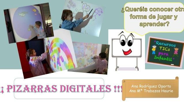 Ana Rodríguez Oporto Ana Mª Trabazos Haurie