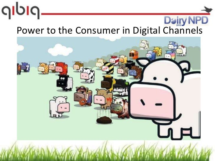 Power to the Consumer in Digital Channels                         Diary NPD