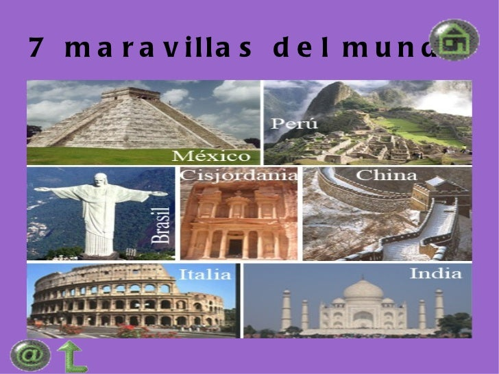 Powert point 7 maravillas del mundo