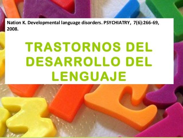 Power transtornos del lenguaje