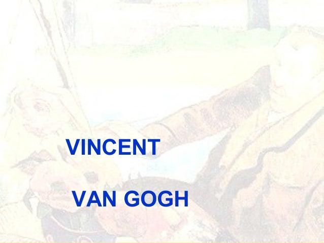 VINCENT VAN GOGH PARA INFANTIL