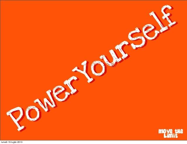Poweryourself promotion