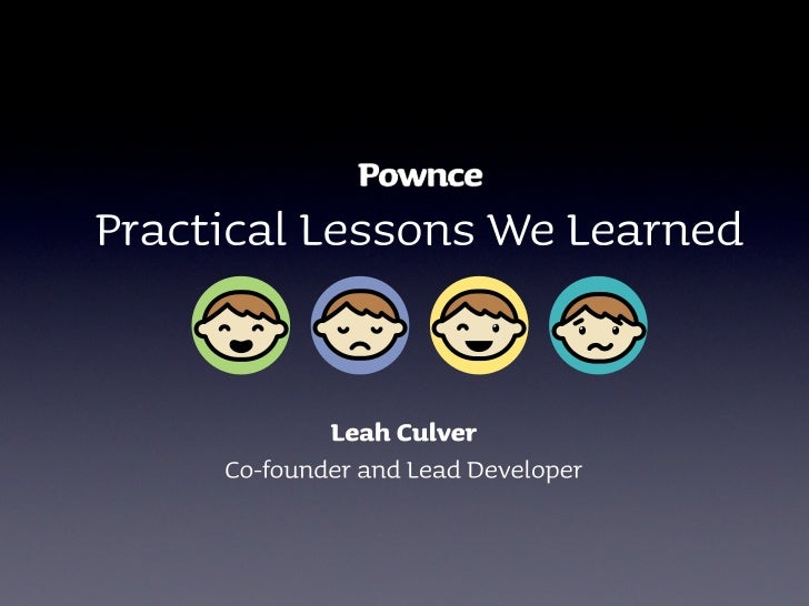 Pownce Lessons Learned