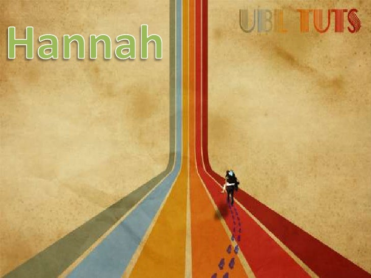 Hannah<br />