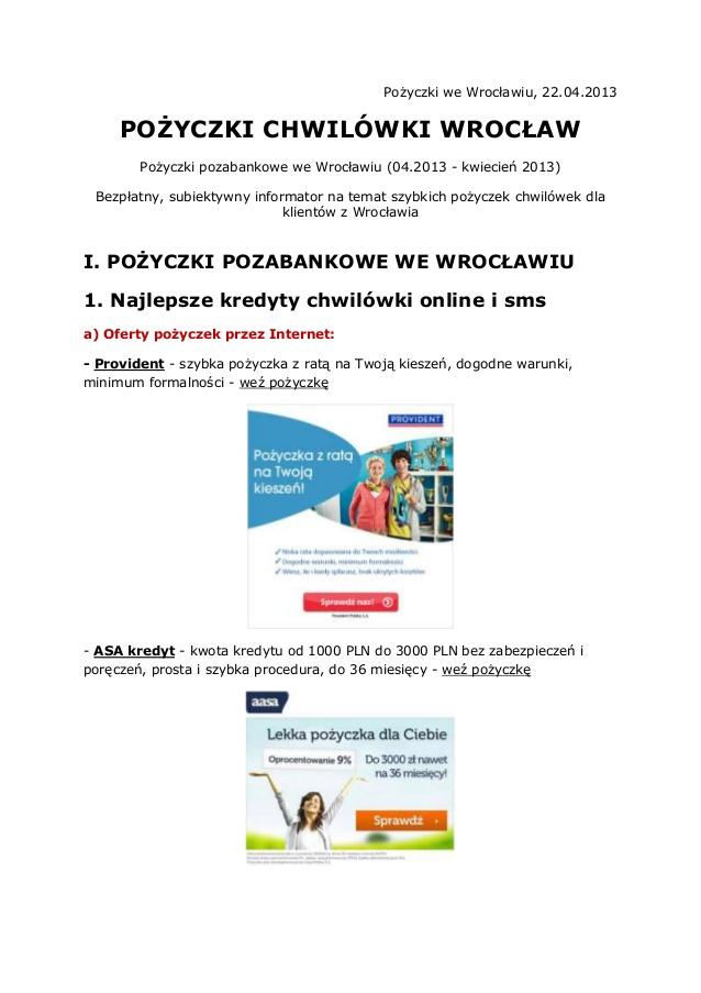chwilówki pozabankowe online