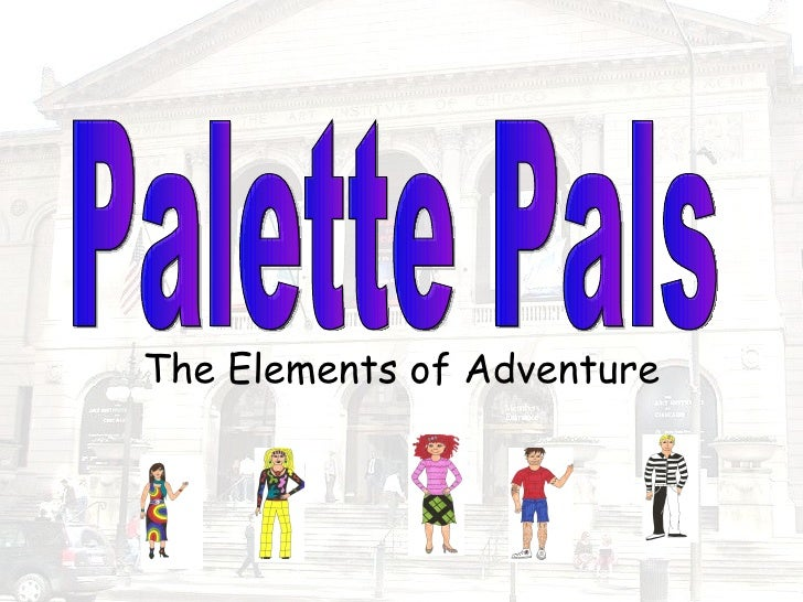 The Elements of Adventure Palette Pals