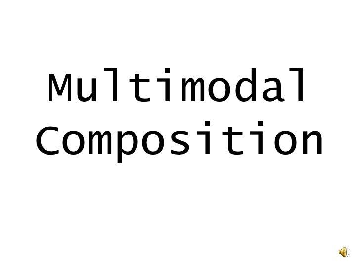 MultimodalComposition<br />