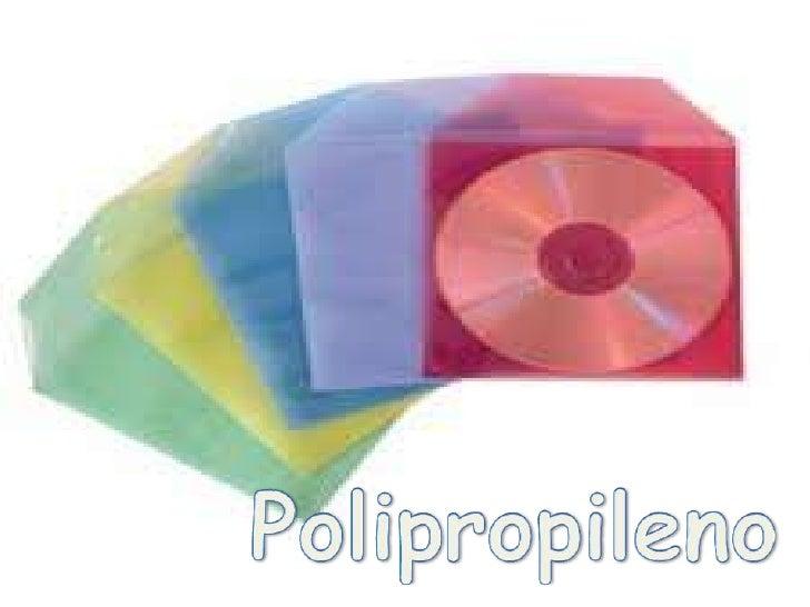• Nombre: Polipropileno• Numero de identificación: está  identificado a través del número 5