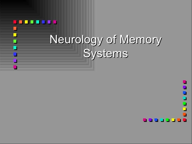 Neurology of Memory Systems