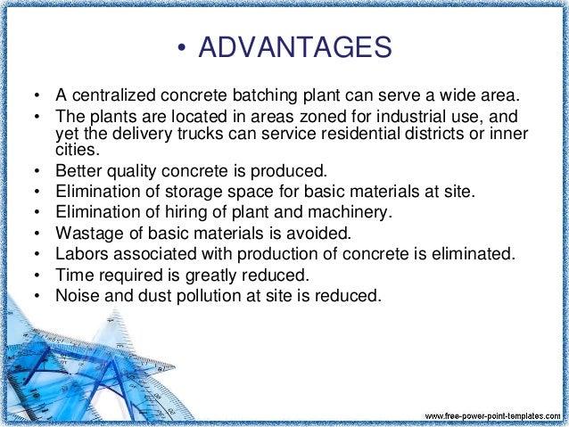 advantages and disadvantages of concrete mixer pdf