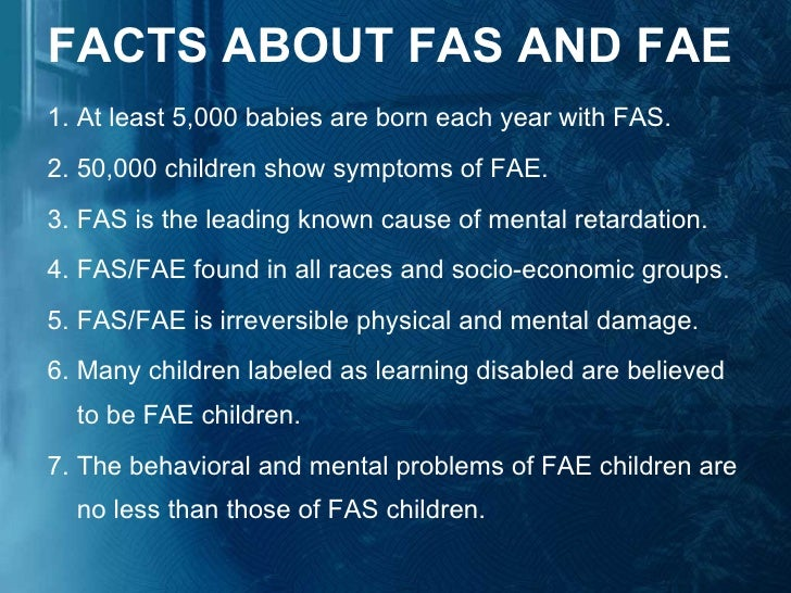 an analysis of fetal alcohol syndrome However, fetal alcohol syndrome (fas), which is one of several conditions classified as fasd,  as is an analysis of the potential risks and costs.