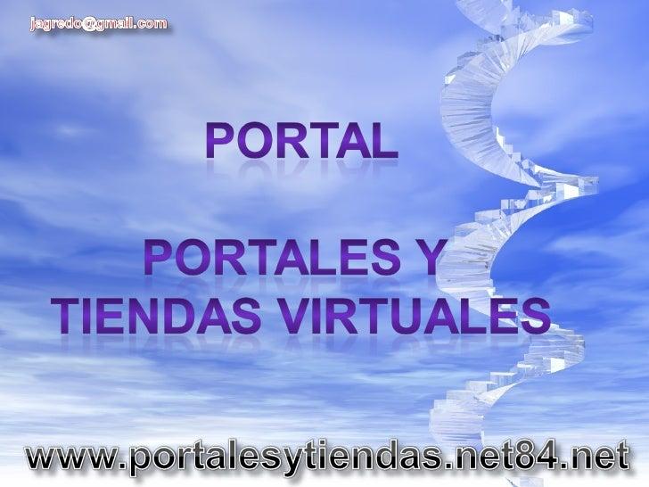 portales y tiendas virtuales