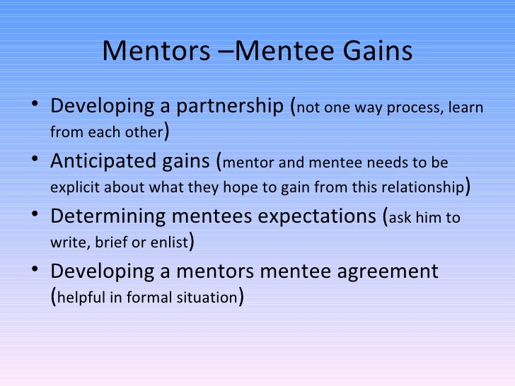 mentorship in nursing And responsibilities of the mentor in supporting pre – registration nursing  student assessment is clearly a key mentorship responsibility.