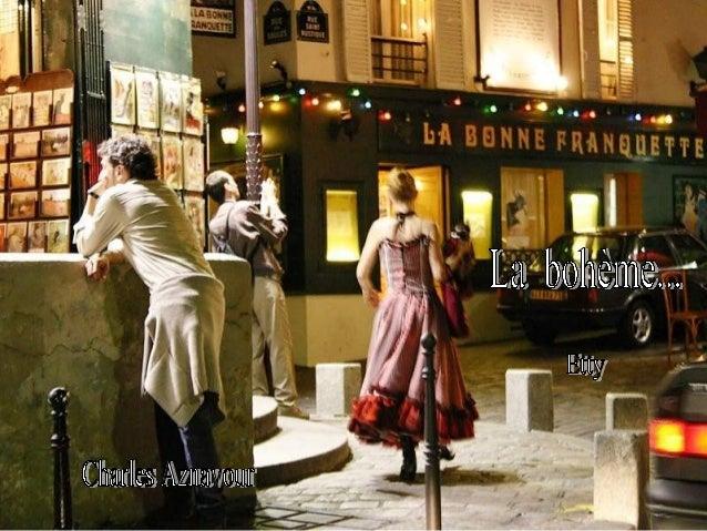 La boheme. Montmartre