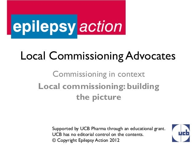 Local Commissioning Advocates      Commissioning in context   Local commissioning: building            the picture      Su...