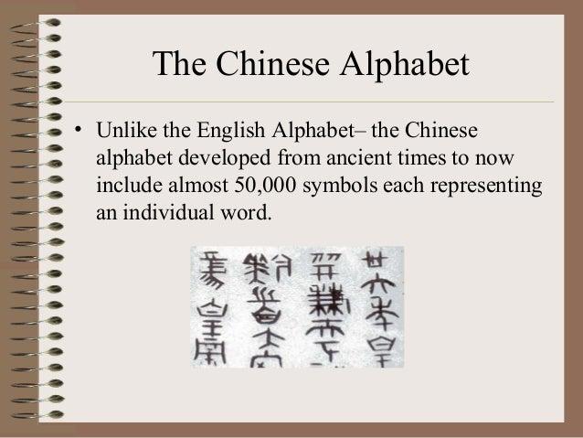 ... Alphabet Translated In English Ancient china - chinese alphabet