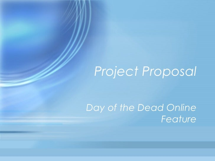 Project ProposalDay of the Dead Online               Feature