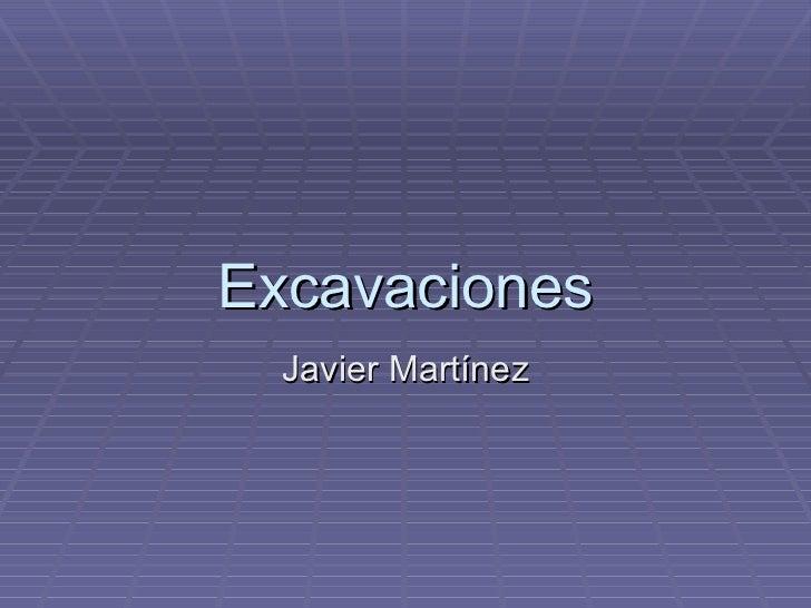 Excavaciones Javier Martínez