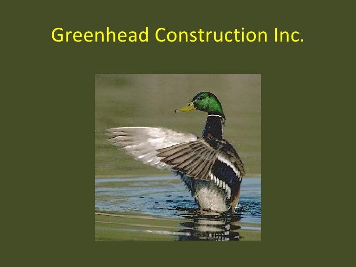 Greenhead Construction Inc.