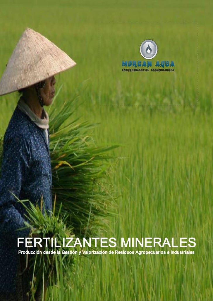 Producción de Fertilizantes Minerales desde Residuos