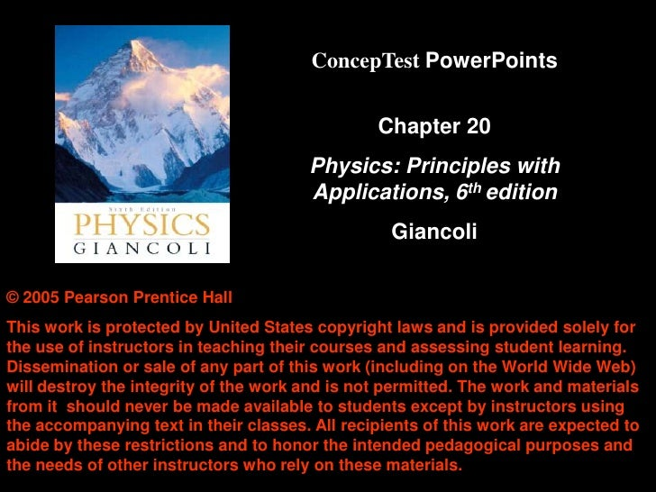 ConcepTest PowerPoints                                                   Chapter 20                                       ...