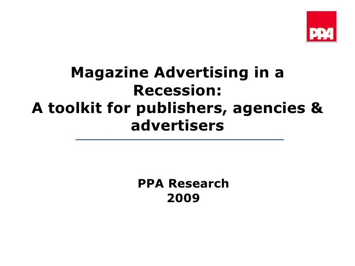 Ppa advertising in recession