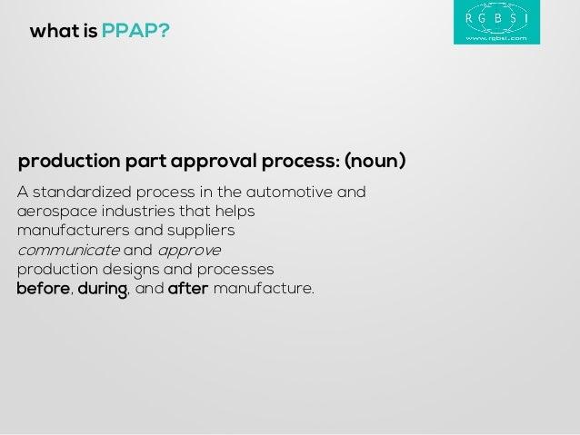 aiag production part approval process pdf