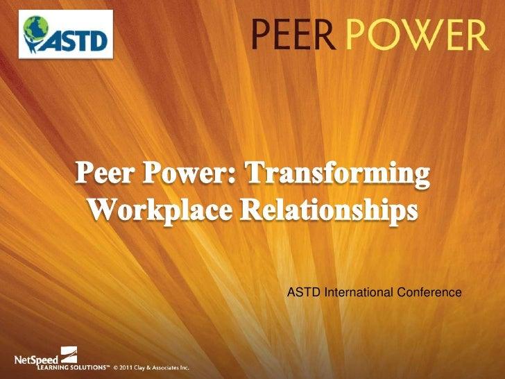 ASTD International Conference©2011 Clay & Associates Inc.