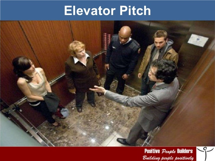 PPB   Elevator Pitch, Elevator Speech