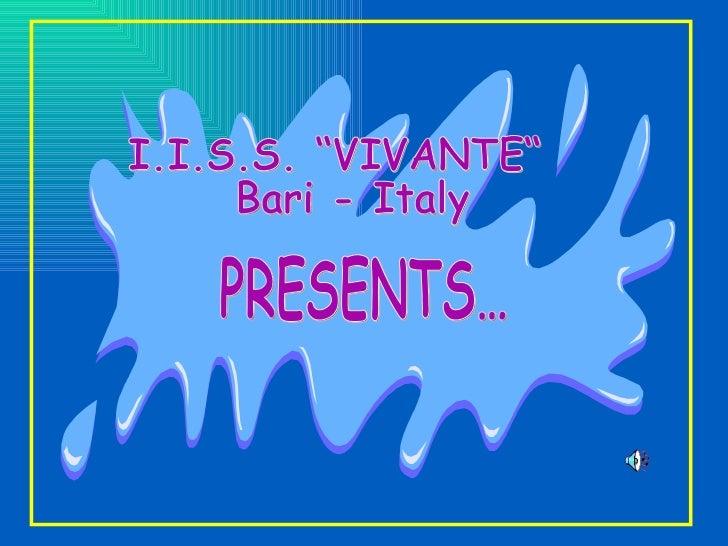 Vivante-Pitagora presentation for comenius project Tourist_tic
