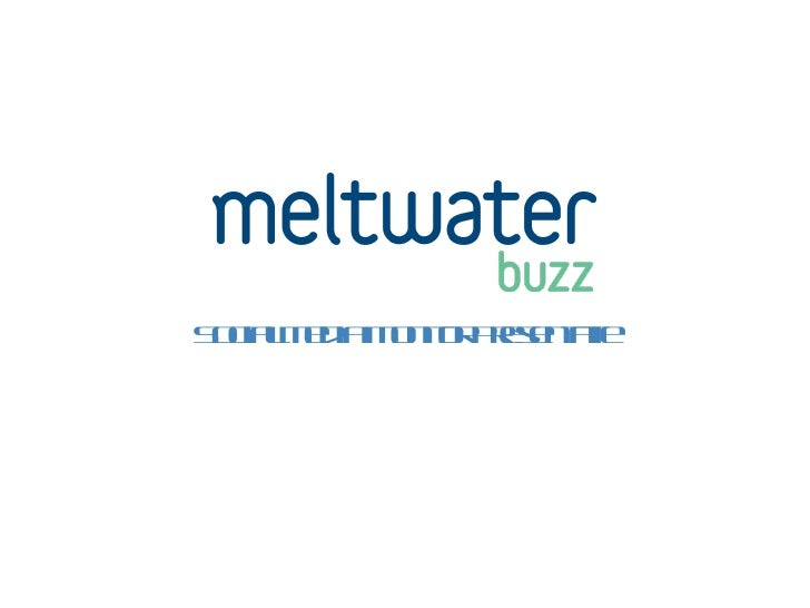 Meltwater Buzz