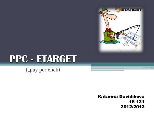 PPC (etarget)