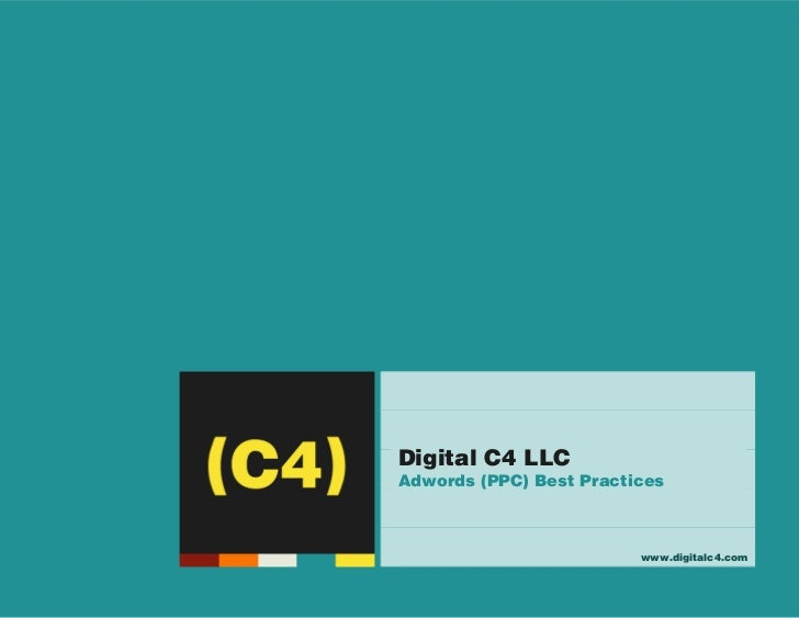 (C4)                                           Digital C4 LLC                                           Adwords (PPC) Best...