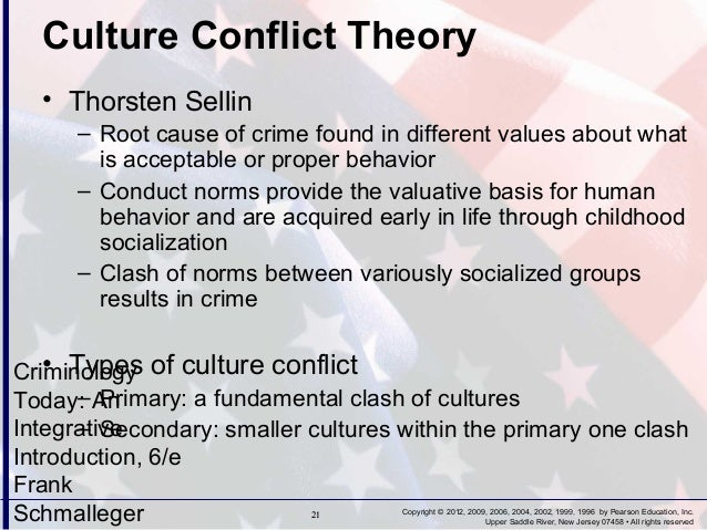 essay on conflict theory