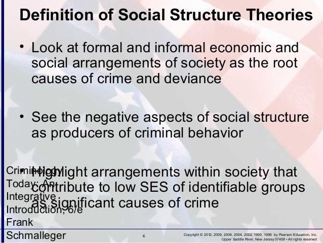 the various theories of criminology The study of criminology is an accumulation of centuries of beliefs, ideas, norms and laws of various societies because crime is a part of every human society, the study of criminology is also imperative to all societies.
