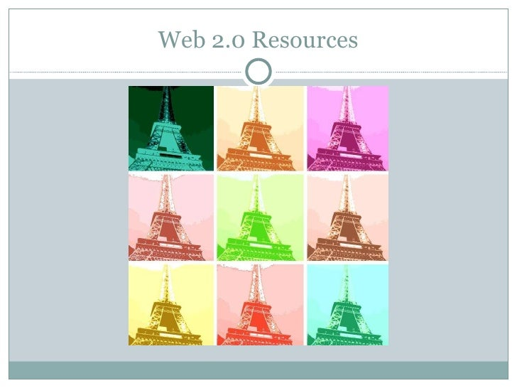 Web 2.0 applications