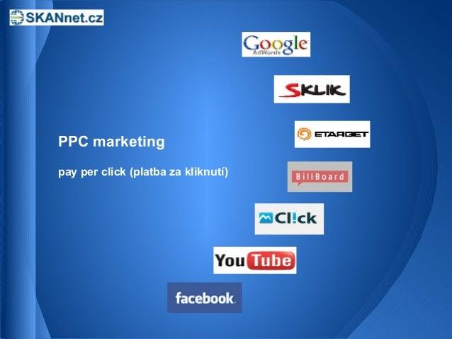 PPC marketingpay per click (platba za kliknutí)