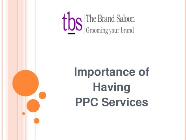 Importance of Having PPC Services