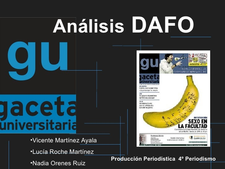 Dafo Gaceta Universitaria