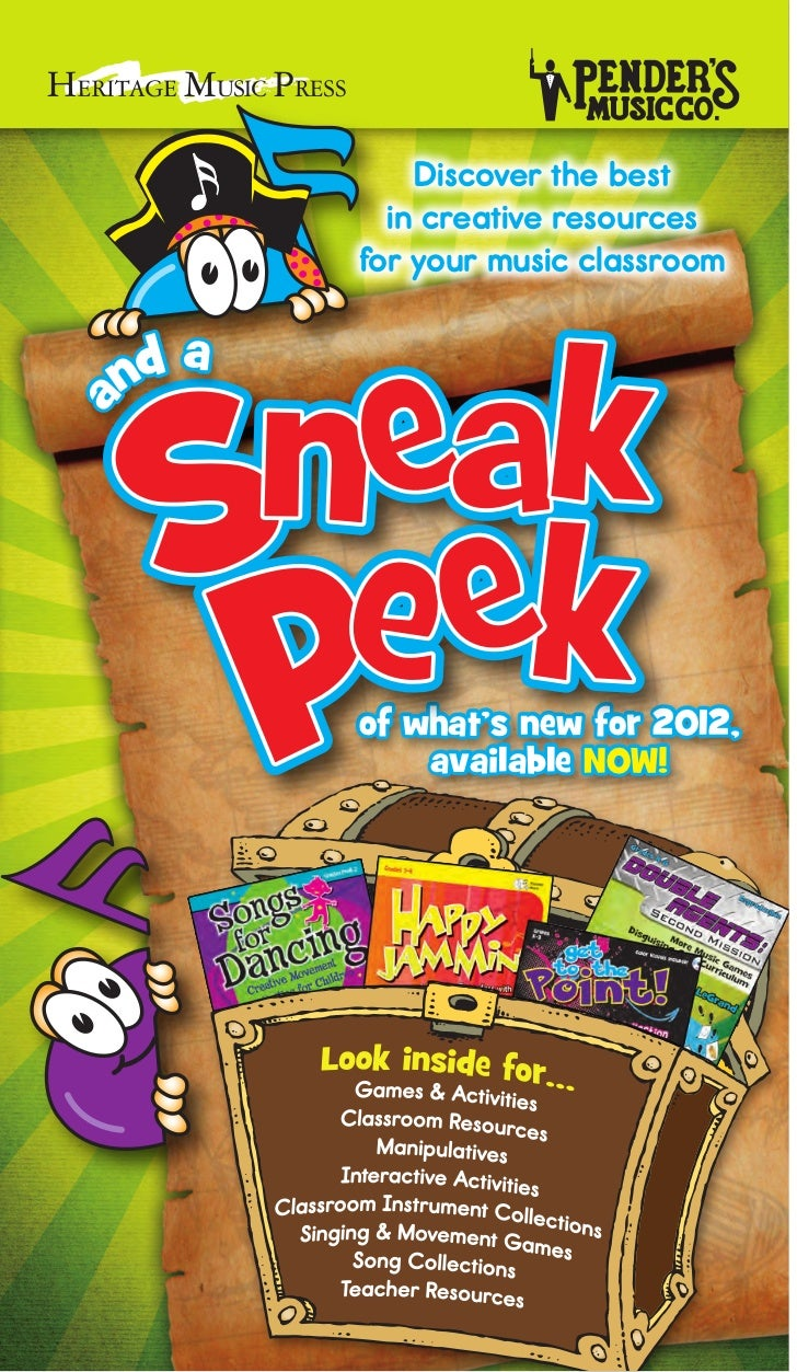 Elementary Music Classroom Resources | HMP Sneak Peek 2012
