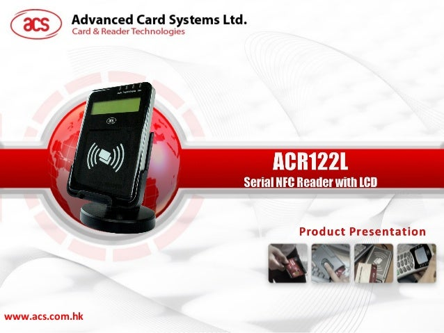 ACR122L VisualVantage Serial NFC Reader with LCD