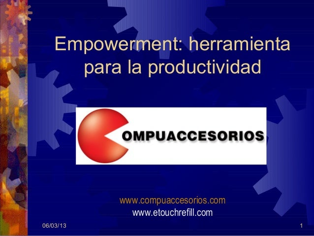 EMPOWERMENT by COMPUACCESORIOS