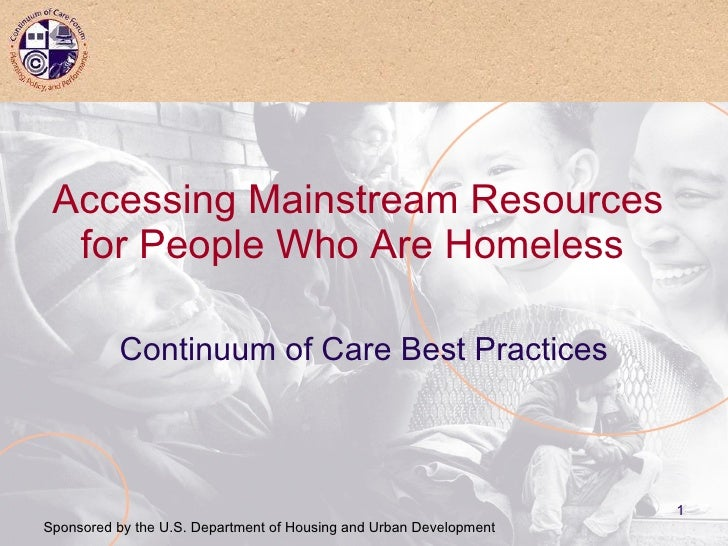 Training Curriculum: Public Benefits for People who are Homeless