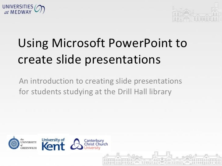 PP for slide presentations