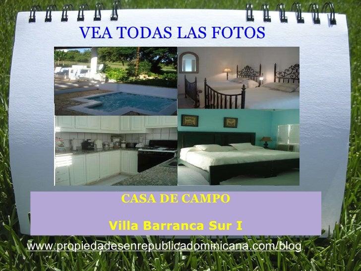 Fotos villa barranca sur i casa de campo - Fotos de casa de campo ...