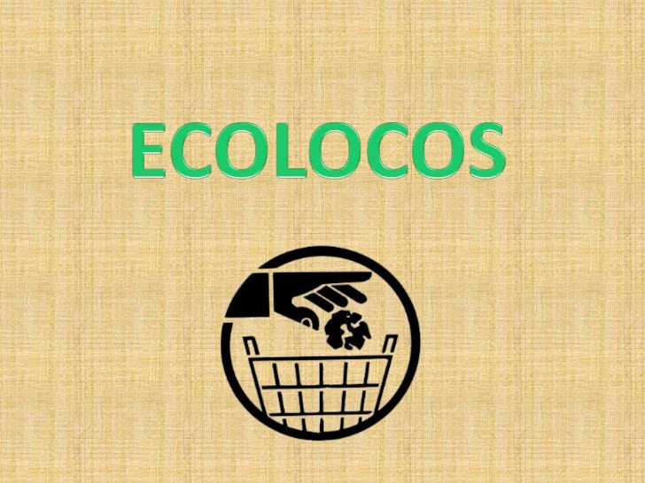 ECOLOS presentation at SSB