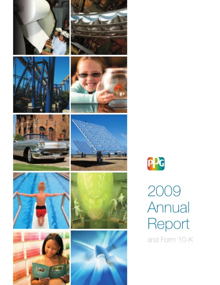 PPG Industries Annual Report 2009